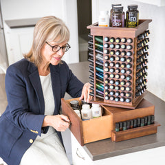 Rotating Essential Oil Rack 2.0 - For storing every doTERRA essential oil!
