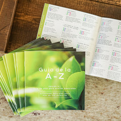 Spanish A-Z Essential Oil Usage Guide