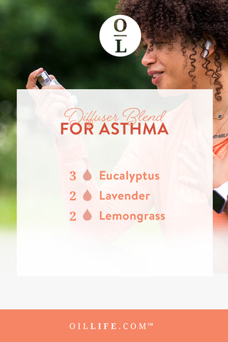 Try this essential oil diffuser blend for asthma!