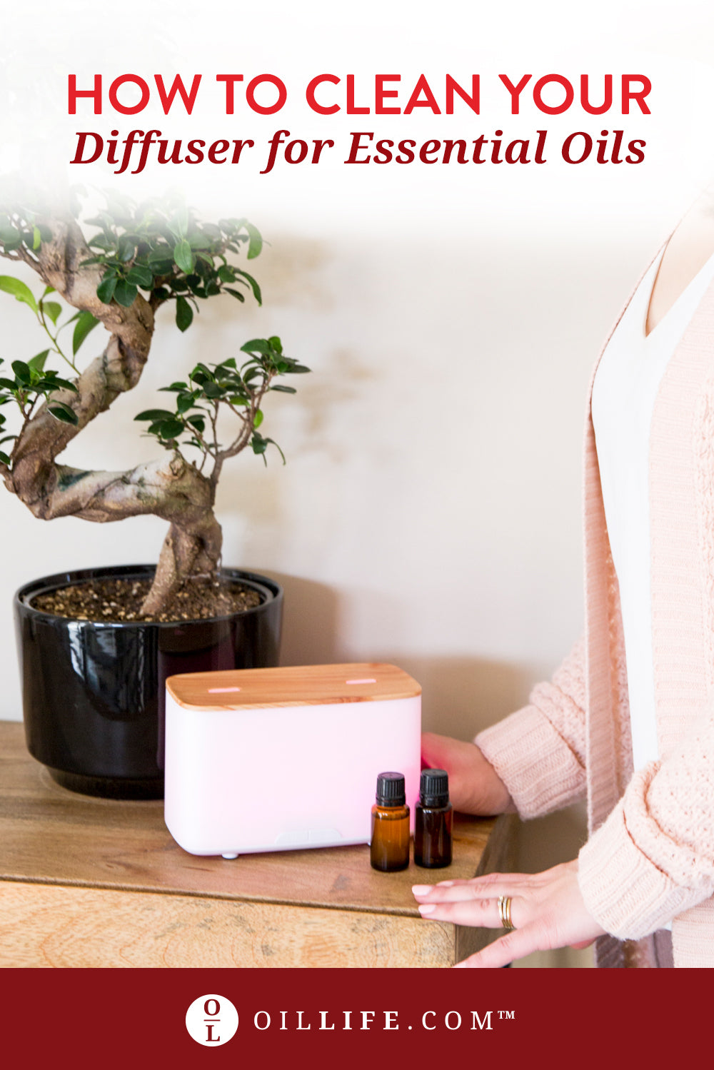 How to Clean Essential Oil Diffuser With Vinegar