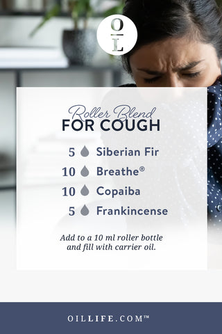 Essential Oil Roller Blend for Cough [Coughing]