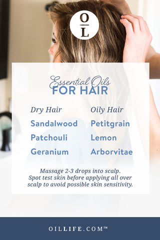 Discover the best essential oils for dry hair!