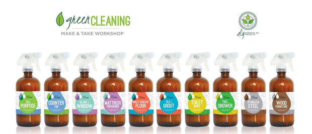 Green Cleaning Make & Take Kit - Oil Life