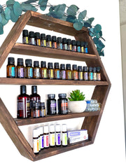 Honeycomb Essential Oil Shelf