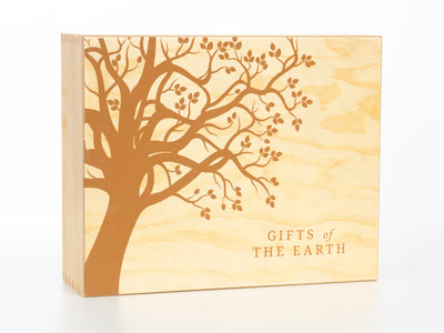 Engraved Pine Box - Holds 80