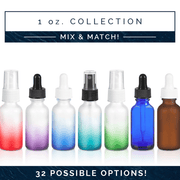 1 oz Ombre Frosted Bottle - 5pk - Oil Life