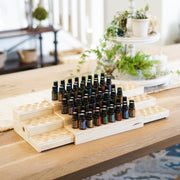 Expandable 3 Tier Essential Oil Shelf - Oil Life