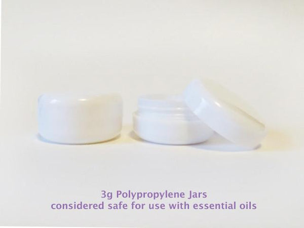 3g Polypropylene Sample Jars - 10pk