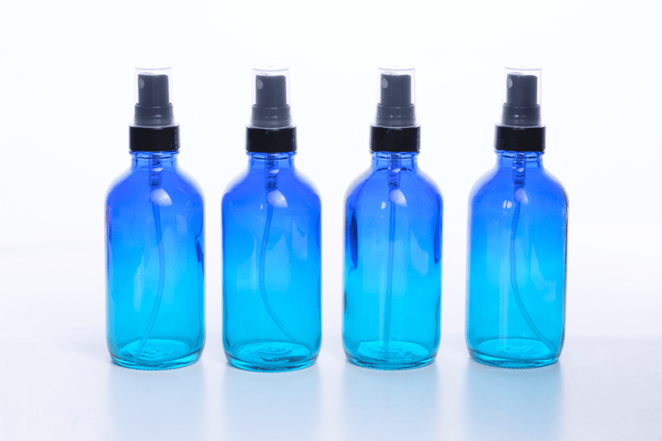 Ombre Glass Spray Bottles (4pk) - Oil Life