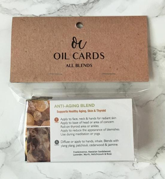 All Blends - Essential Oil Cards