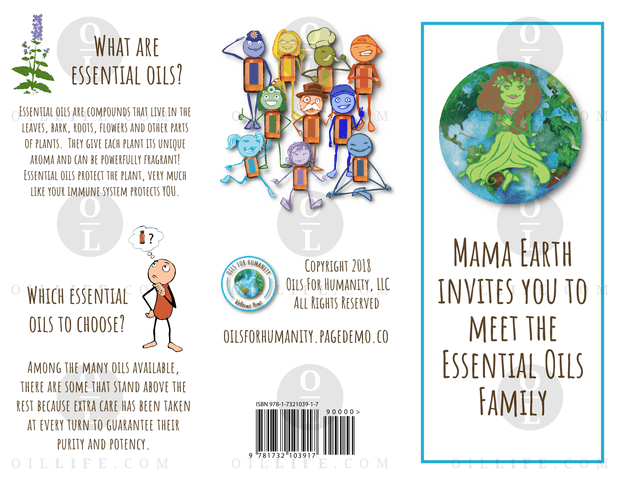 Mama Earth Invites You to Meet the Essential Oils Family Brochures - 25pk - Oil Life