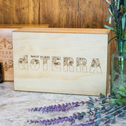Engraved Pine Box - Holds 40