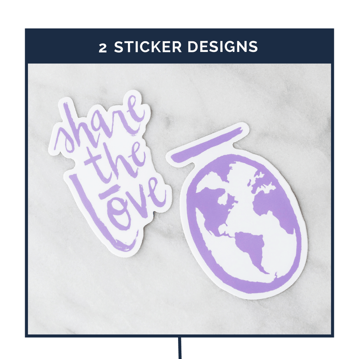 doTERRA Stickers - Oil Life