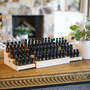 Expandable 3 Tier Essential Oil Shelf