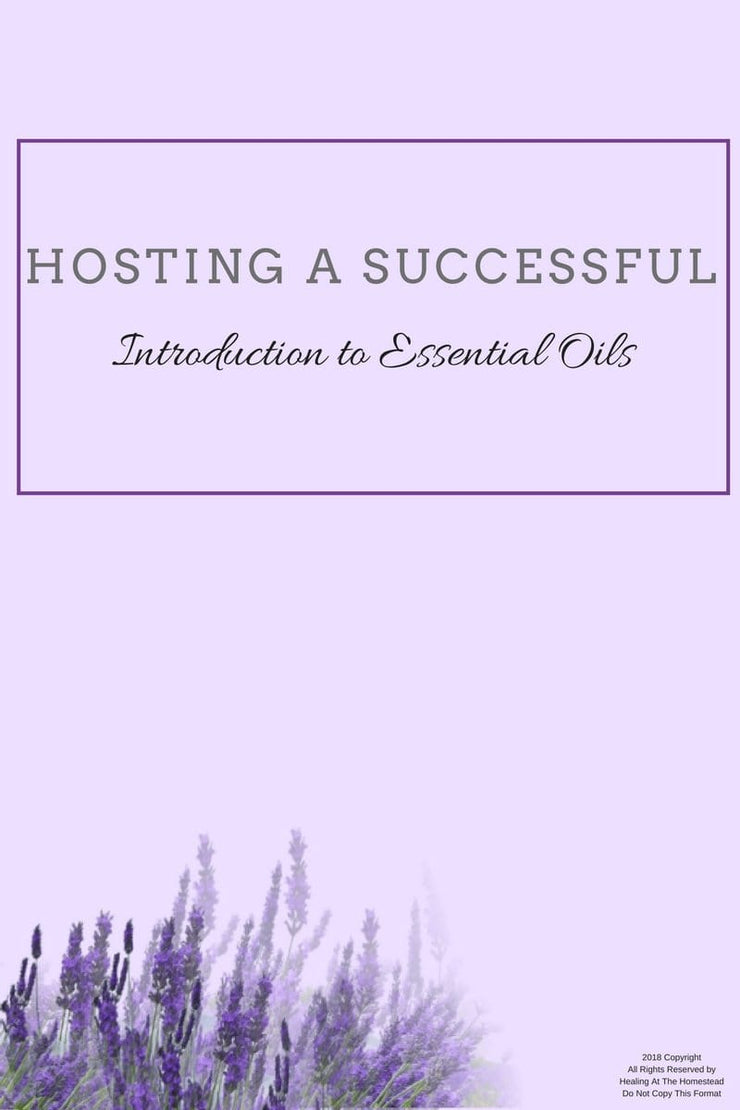 Essential Oil Class Hostess Packet -Download - Oil Life