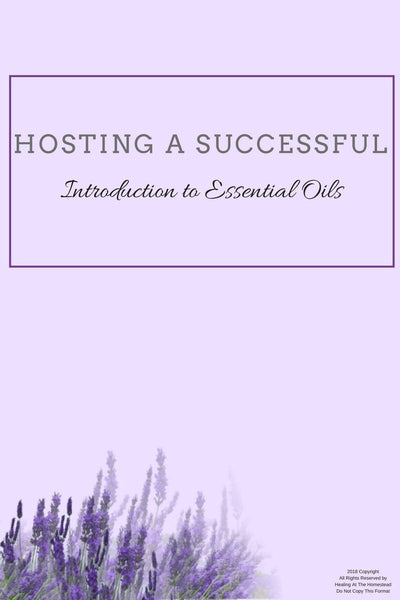Essential Oil Class Hostess Packet