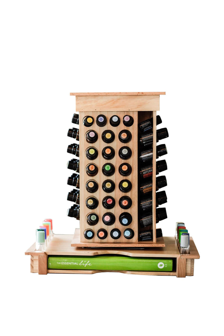 Rotating Essential Oil Rack