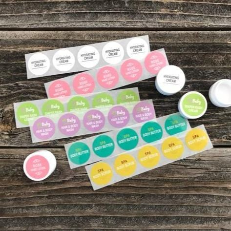 Sample Jar Labels - Variety Pack