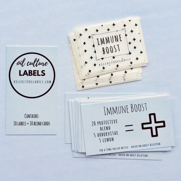 Immune Boost - 10 pk Labels.