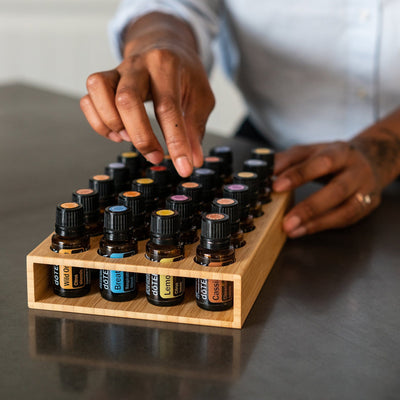 Modern Open Sided Essential Oil Tray