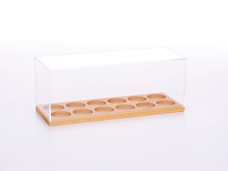 Modern Essential Oil Enclosed Display