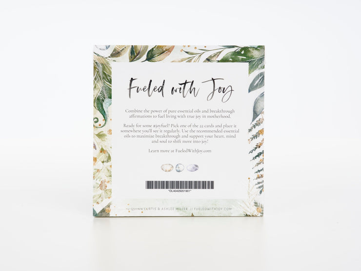Fueled with Joy in Motherhood Affirmation Cards - Oil Life