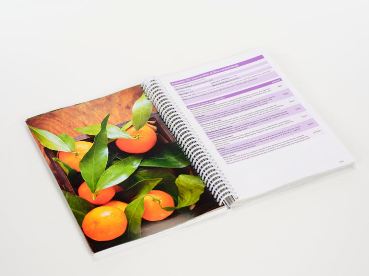 Essential Oils Unlocked - Spiral Bound Book - Oil Life