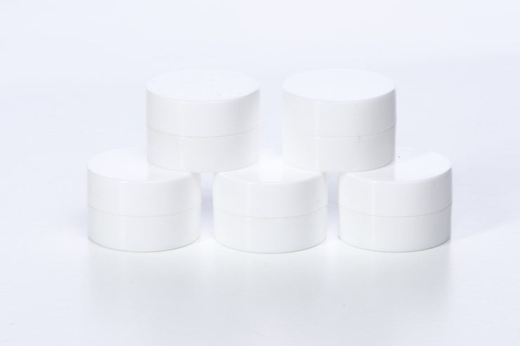5g Polypropylene Double-Walled Sample Jars (10 pack) - Oil Life