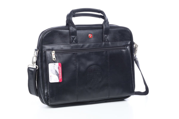doTERRA Wenger Leather Briefcase - Black