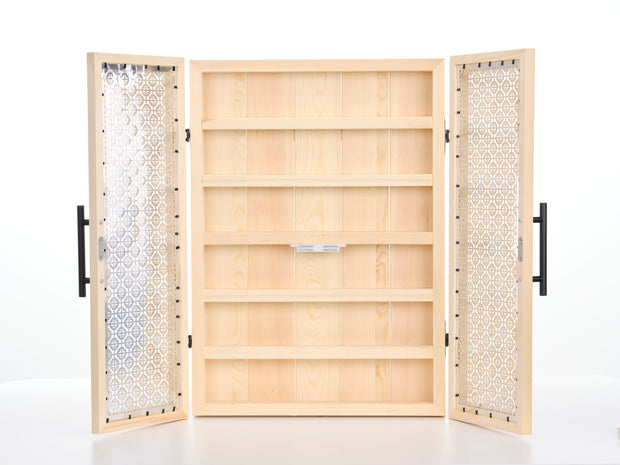 Essential Oil Wall Cabinet - Oil Life