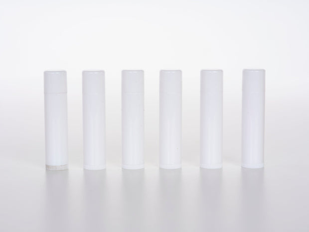 Lip Balm Tubes - White 10pk - Oil Life