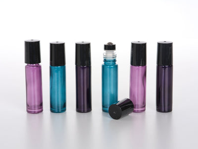 10 ml Dark Shimmer Roller Bottles - 6pk - Oil Life