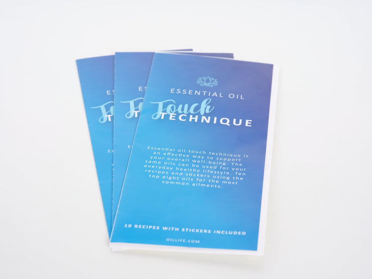 Essential Oil Touch Technique Handout - 3pk - Oil Life