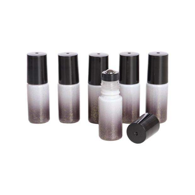 Sparkled Ombre Rollers w/Stainless Steel Rollers -6pk - Oil Life