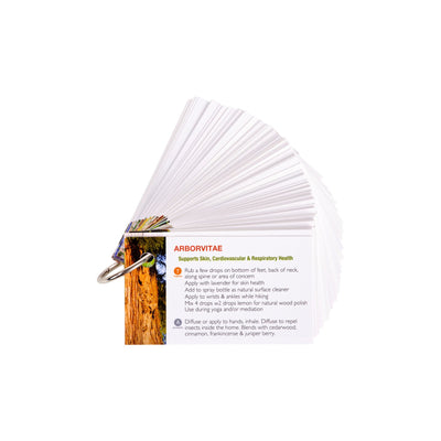 Every Oil w/ Ring - Essential Oil Cards