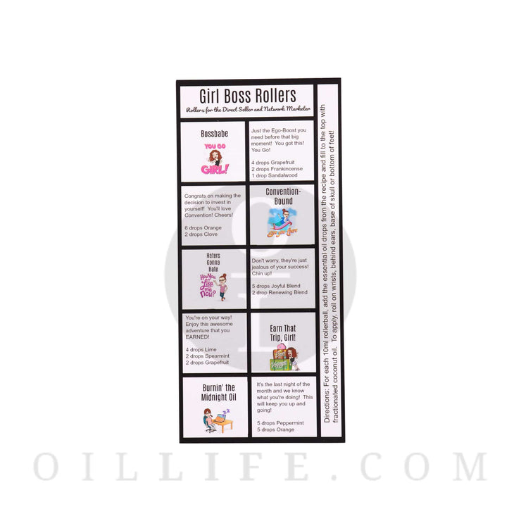 Girl Boss Rollers  - Rollerball Blend Kit - Oil Life