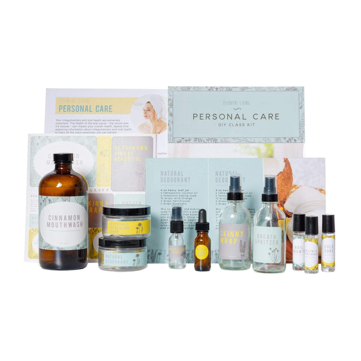 Personal Care - Essential Oil DIY Class Kit
