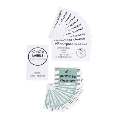 All Purpose Cleaner - 10 pk Labels - Oil Life