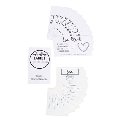 Love - 10 pk Labels