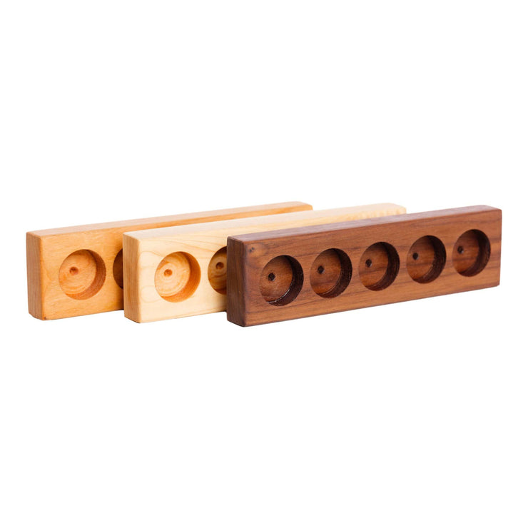 Essential Oil Tray - 3 Wood Options - Oil Life