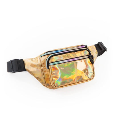 Essential Oil Fanny Pack | Dream Collection Fabric Bags eos - Easy Oil Solutions Iridescent Gold
