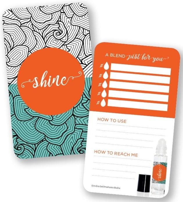 Encouragement Edition Blend Cards - Oil Life