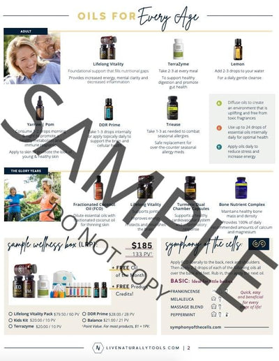 Oils for Every Age Tear Pad - Oil Life
