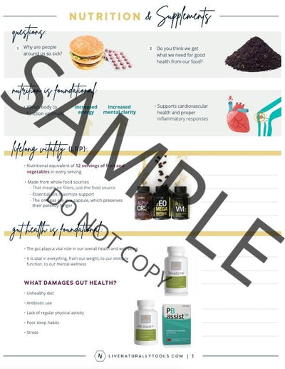 Nutrition & Supplements Digital Download - Oil Life