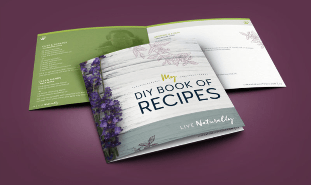 My DIY Book of Recipes -3pk