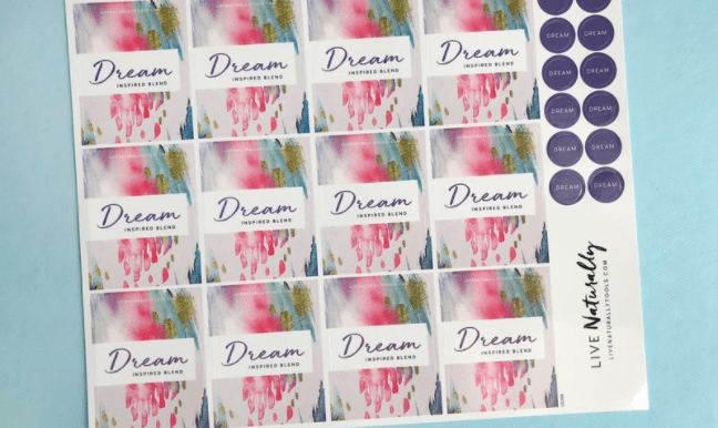 Dream Label Sheet