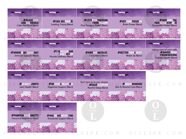 #dreambig Rollerball Blends - Oil Life