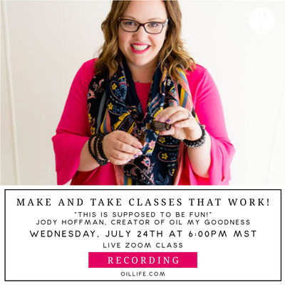Make and Take Classes that Work! Workshop w/Jody Hoffman - Recording