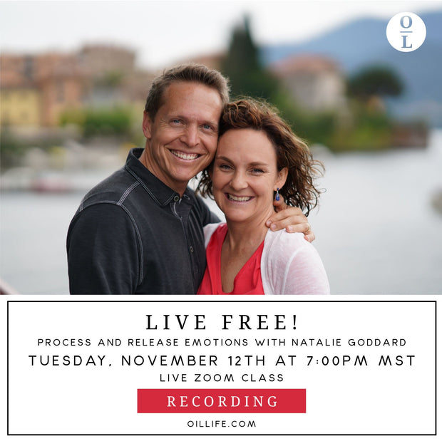 Live Free w/ Natalie Goddard Workshop - Recording