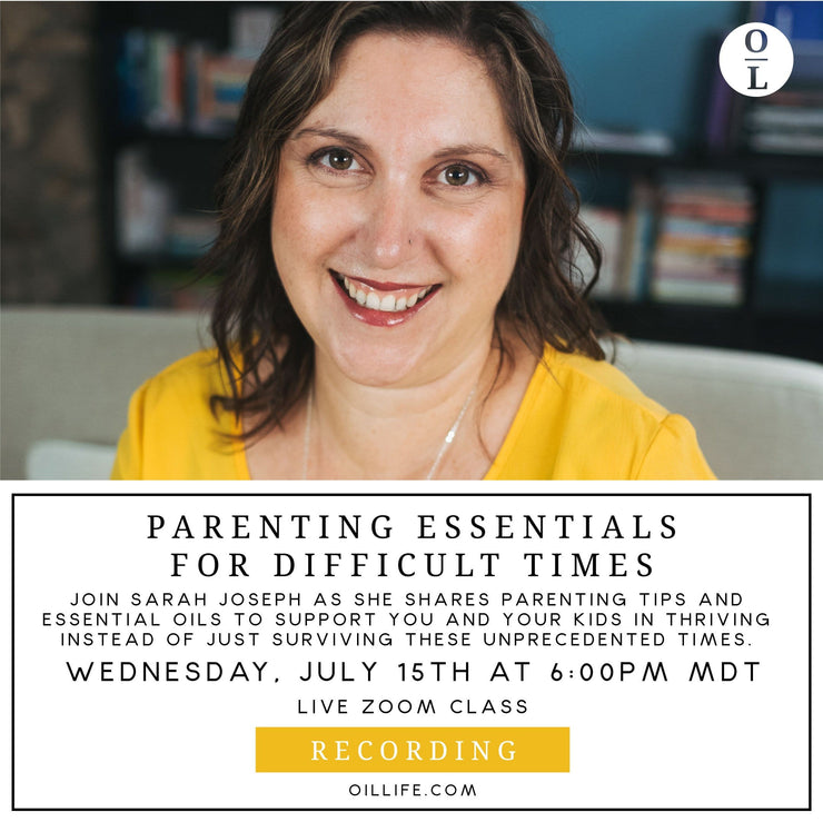 Parenting Essentials for Difficult Times - Recording